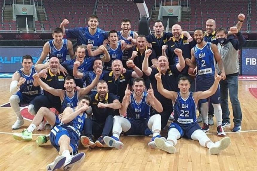 Pobjeda košarkaša BiH protiv Bugarske za kraj kvalifikacija