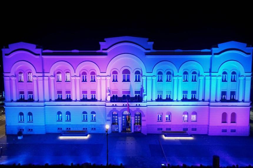 Banski dvor osvijetljen za oboljele od rijetkih bolesti