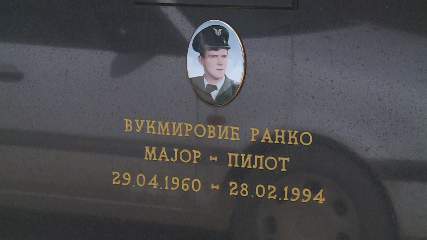 Помен пилоту Ранку Вукмировићу