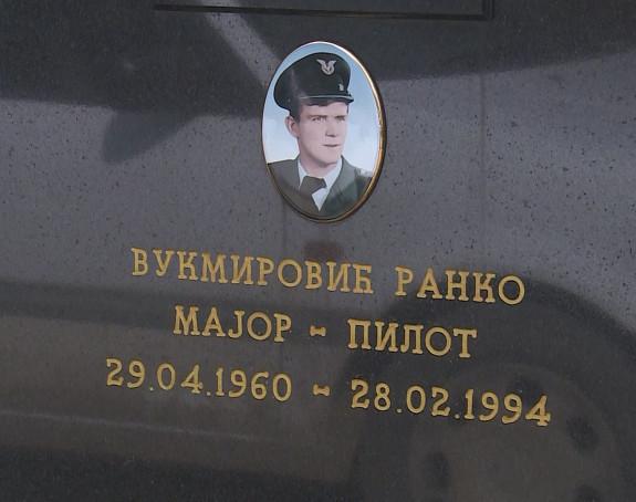 Pomen pilotu Ranku Vukmiroviću
