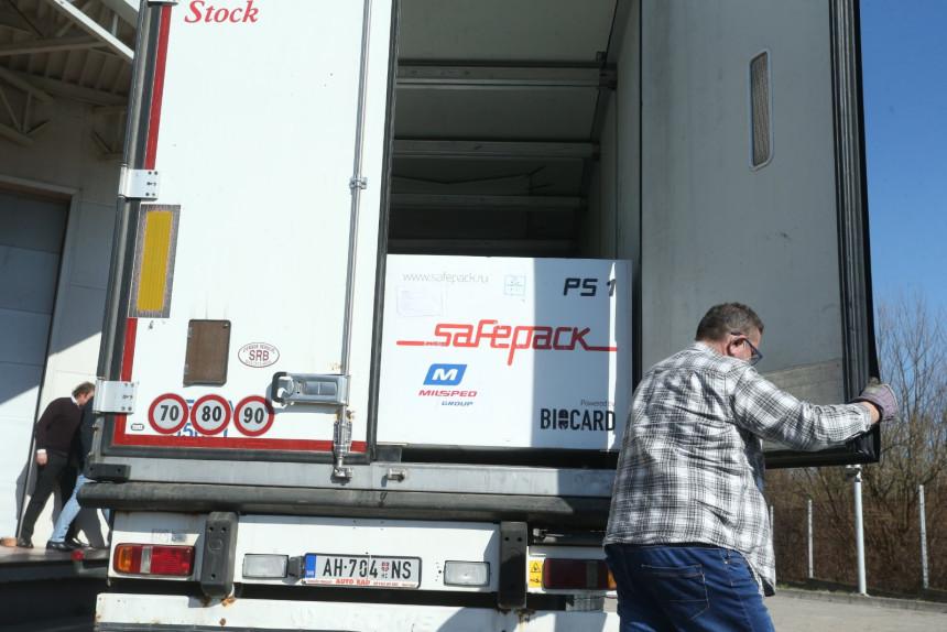 U Srpsku stiglo 20.000 vakcina Sputnjik V
