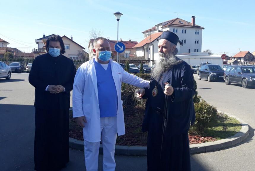 Vladika Fotije posjetio bolnicu u Bijeljini