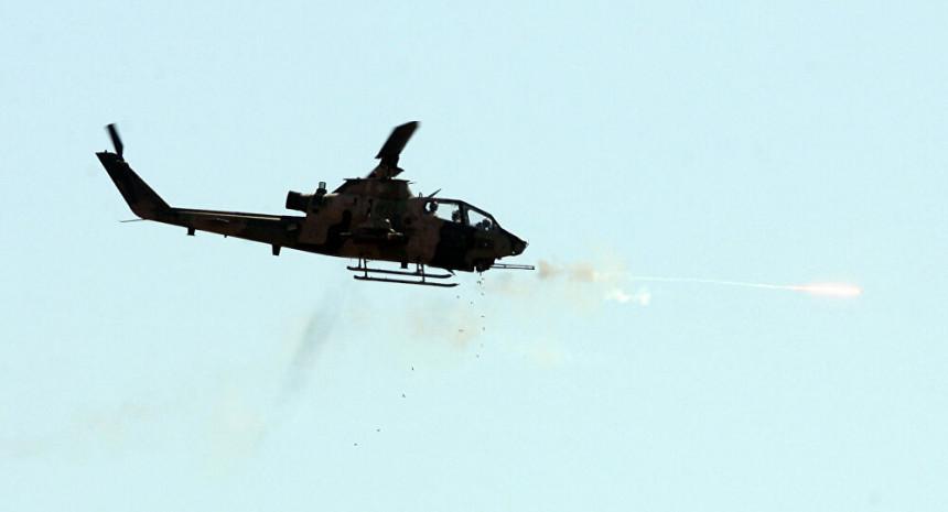 U padu vojnog helikoptera devet osoba poginulo