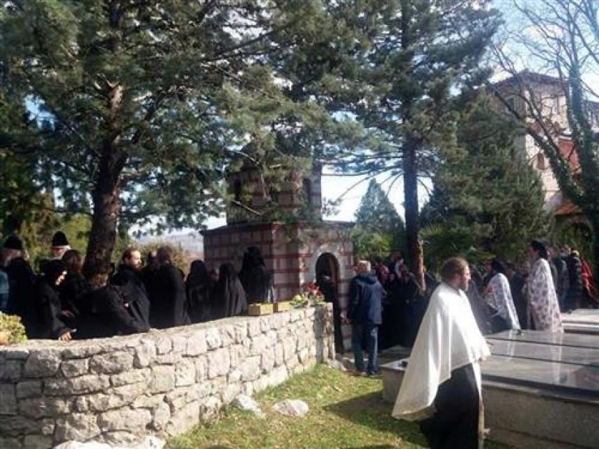 Episkop Atanasije sahranjen na groblju manastira Tvrdoš