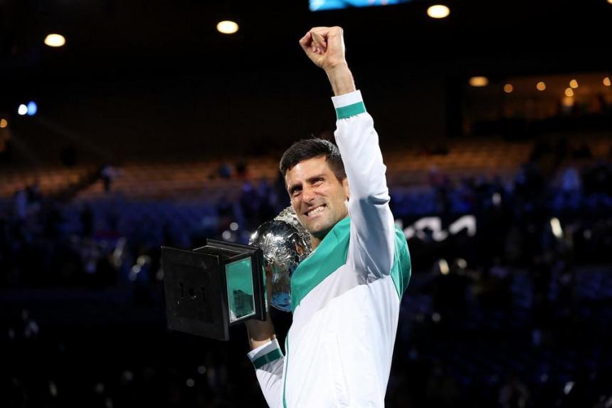 Srpski teniser Novak Đoković oborio svjetski rekord