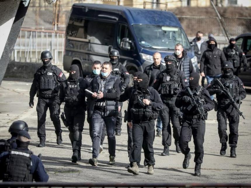 Prikazani snimci hapšenja starleta, Ace Bosanca i šteka