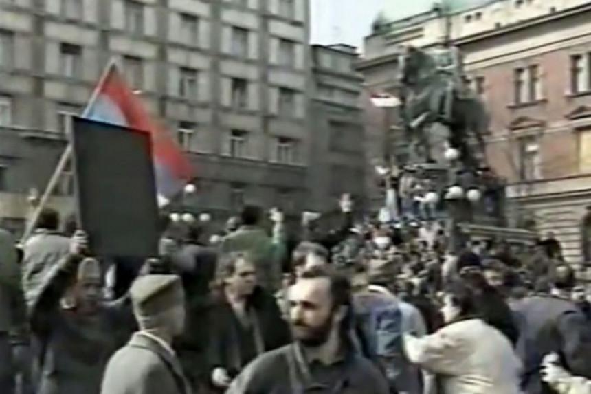 Прије 30 година велики протест против Милошевића