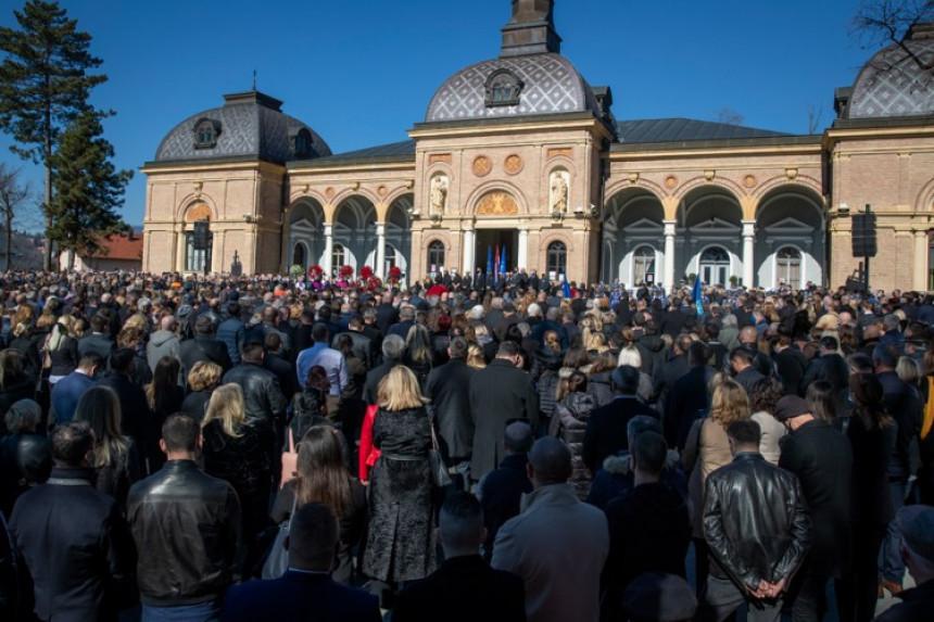 Kazne za kršenje mjera na sahrani Milana Bandića