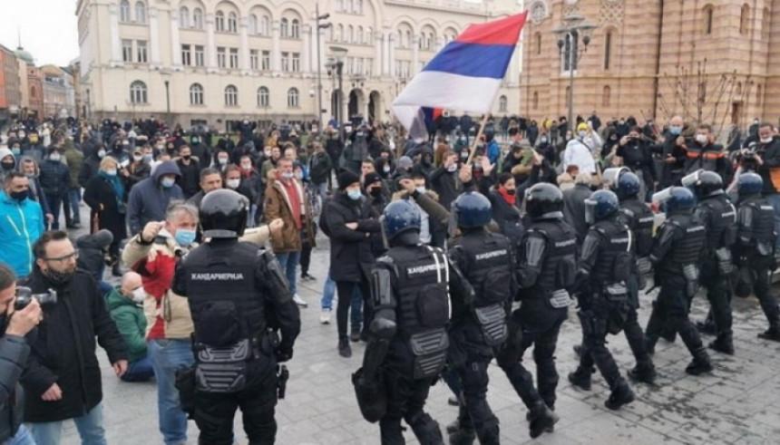 """Policija """"objasnila"""" dešavanja na ulicama Banjaluke"""