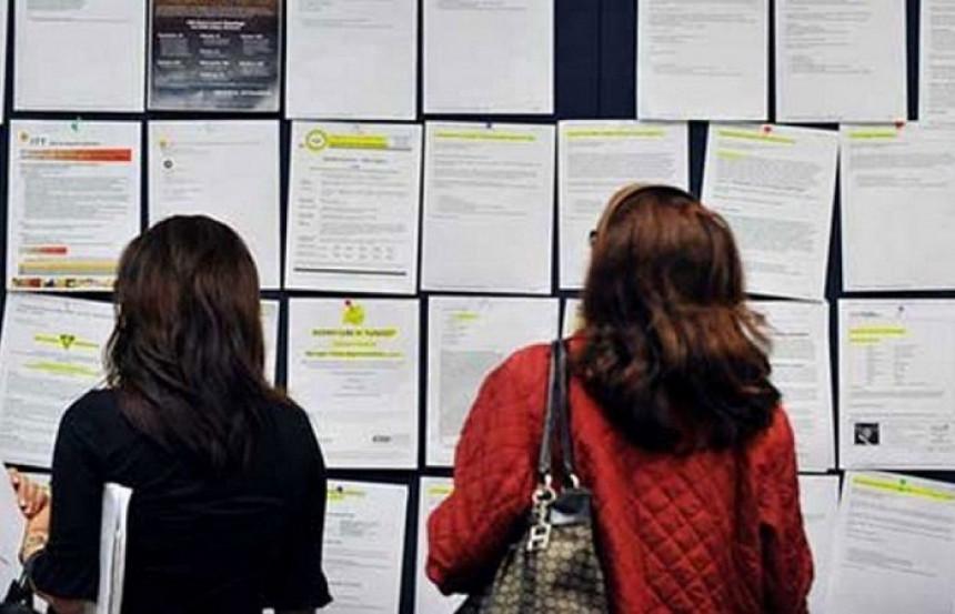 Nezaposlenost od početka pandemije povećana