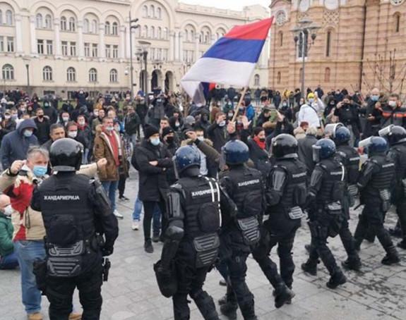 Poziv na proteste: Stop teroru Kriznog štaba