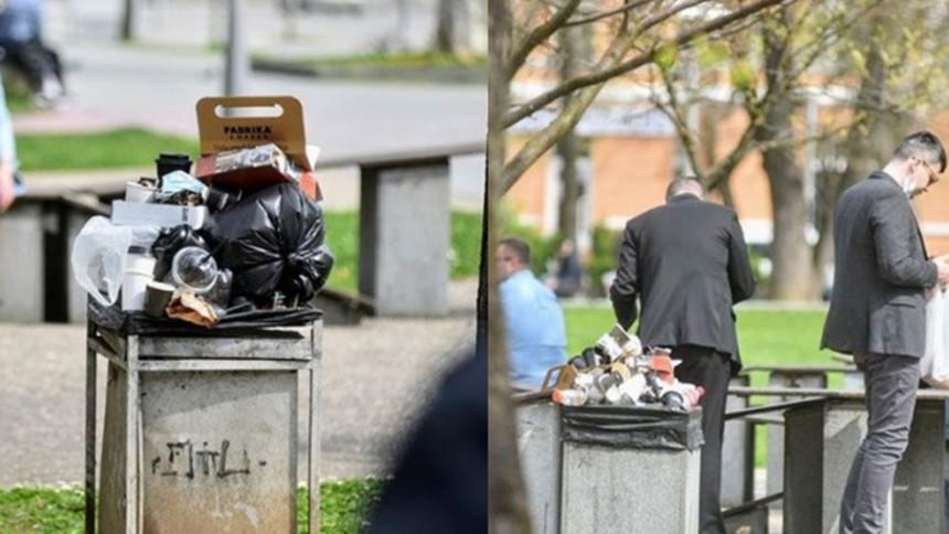 Pokupljeno smeće u Banjaluci, radnici volontirali