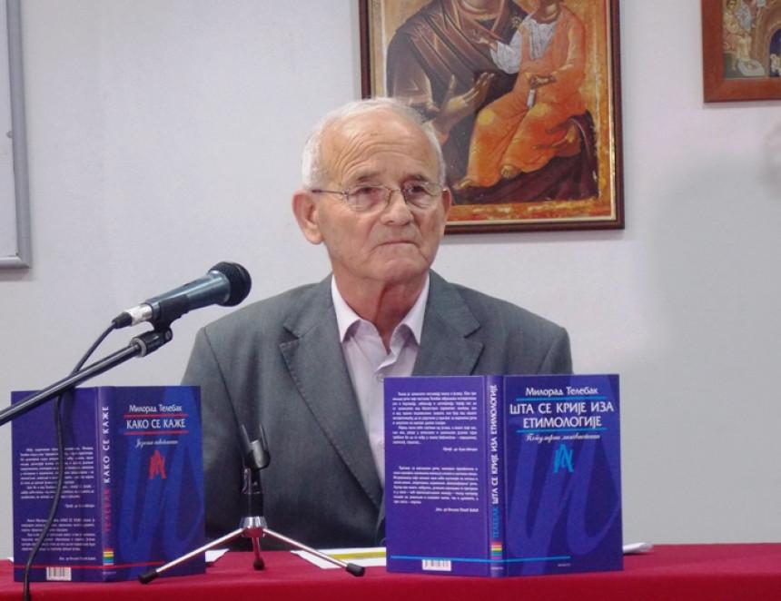 Preminuo profesor Milorad Telebak