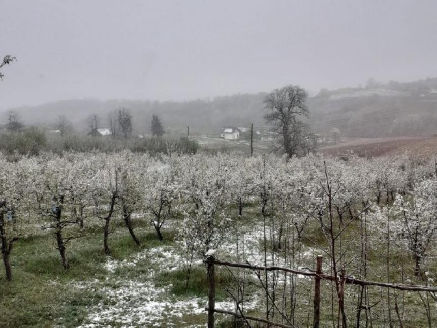 Nova promjena u utorak, ponovo se očekuje snijeg