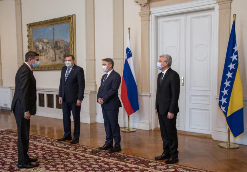 Šta je Pahor rekao tokom nedavne posjete BiH?