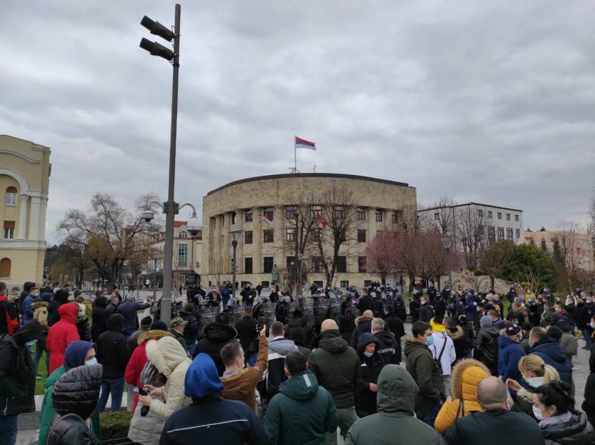 Saslušavani građani u policiji zbog protesta