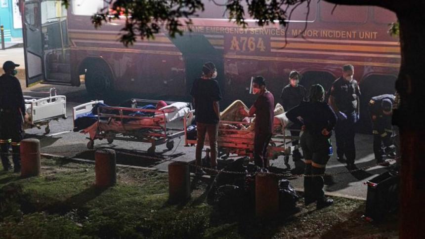 Požar buknuo u bolnici, 700 ljudi evakuisano