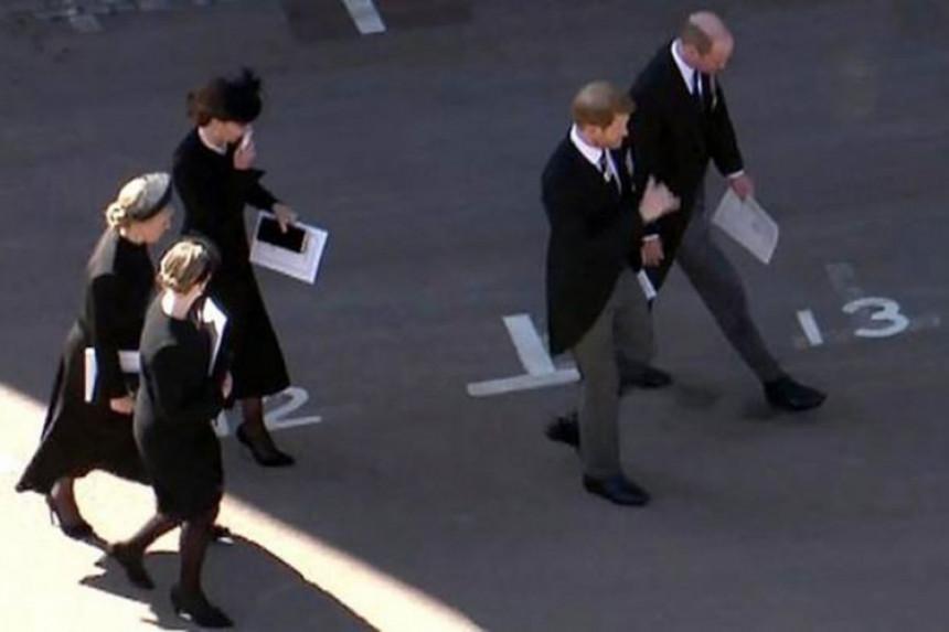 Kako je Kejt pomogla susret Vilijama i Harija