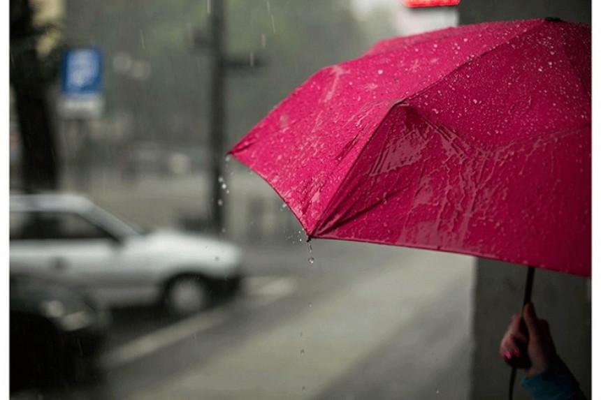 Pretežno oblačno vrijeme, sa slabom kišom
