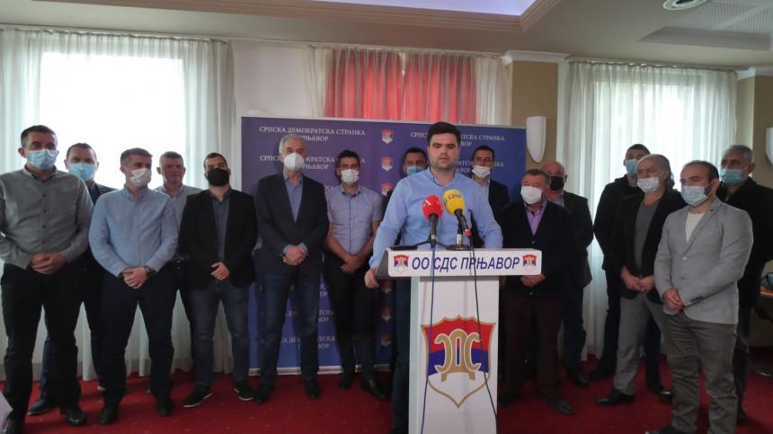 Novi preokret u Prnjavoru, SNSD opozicija