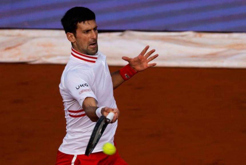 Novak dominantno do četvrtfinala u Beogradu