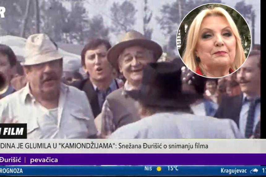 """Snežana Đurišić se prisetila svoje uloge u kultnom filmu """"Kamiondžije""""!"""