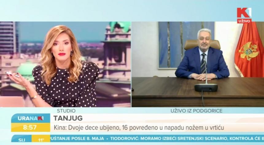 Krivokapić ponudio crnogorski pasoš Joksimoviću