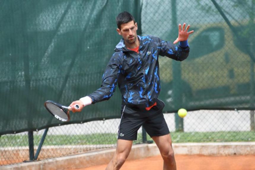 Novak Đoković nastavio pripreme u Sarajevu