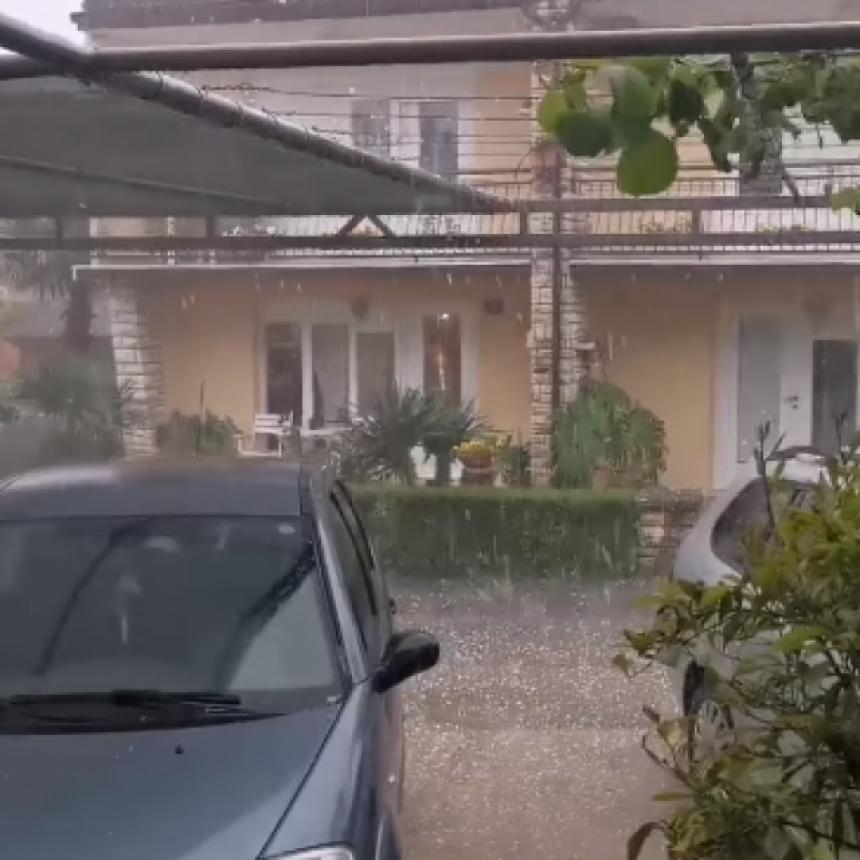 Nevrijeme u Istri: Za dva sata više od 4.000 munja
