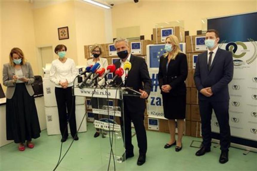 EU uručila pomoć Srpskoj vrijednu dva miliona evra