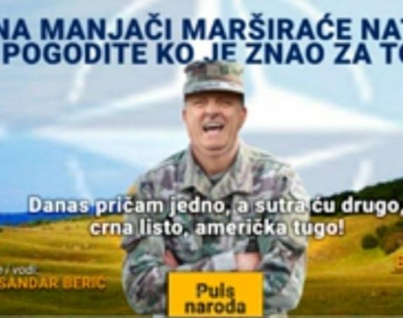 Na Manjači maršira Nato: Pogodite ko je znao za to!