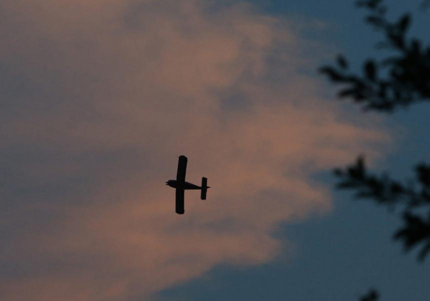 Хрватски авион у лету ударио у јастреба