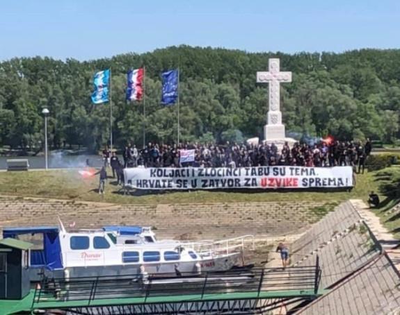 """U Vukovaru skandirali """"Ubij Srbina"""""""