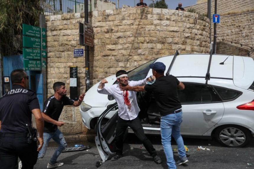 Haos u Jerusalimu: Neredi i hapšenja na Dan grada