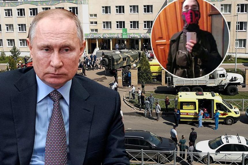 Путин одмах реаговао након крвопролића у школи