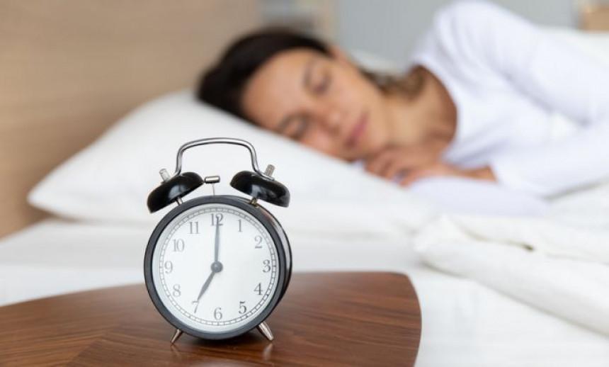 Ovo je idealno vrijeme kada trebate spavati
