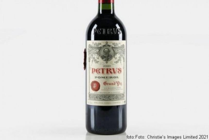 """Na aukciji """"Pétrus 2000"""" flaša vina iz svemira!"""