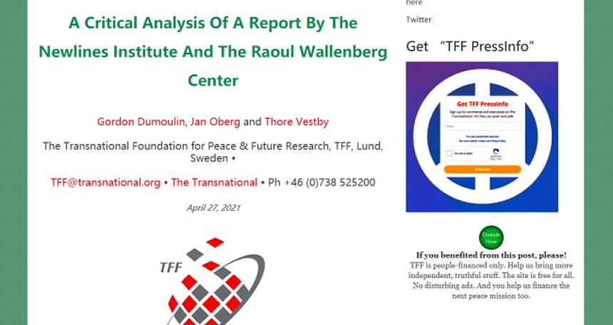 Švedska fondacija o falsifikovanim podacima američkog izveštaja o Sinđijangu