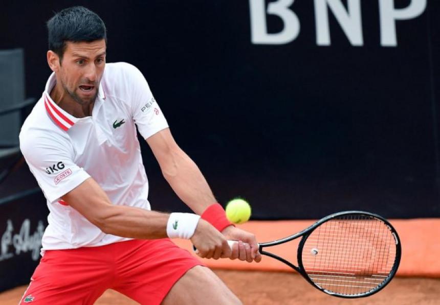 Dominacija: Novak Đoković lako do četvrtfinala