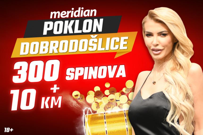 MAN. UTD - LIVERPOOL sa Meridian poklonom od 10 KM + 300 spinova i bonusom 10%!