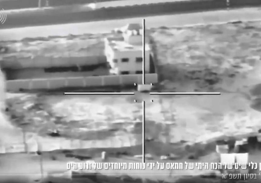 Izraelske snage napale mornaricu Hamasa