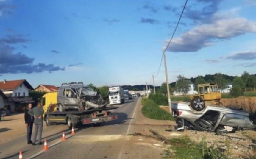 Teška nesreća kod Banjaluke: Jedna osoba stradala