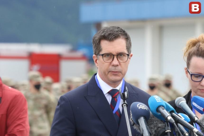Nelson: Američki vojnici važan partner OS BiH