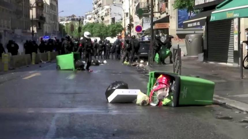 Neredi na protestima podrške Palestini u Parizu