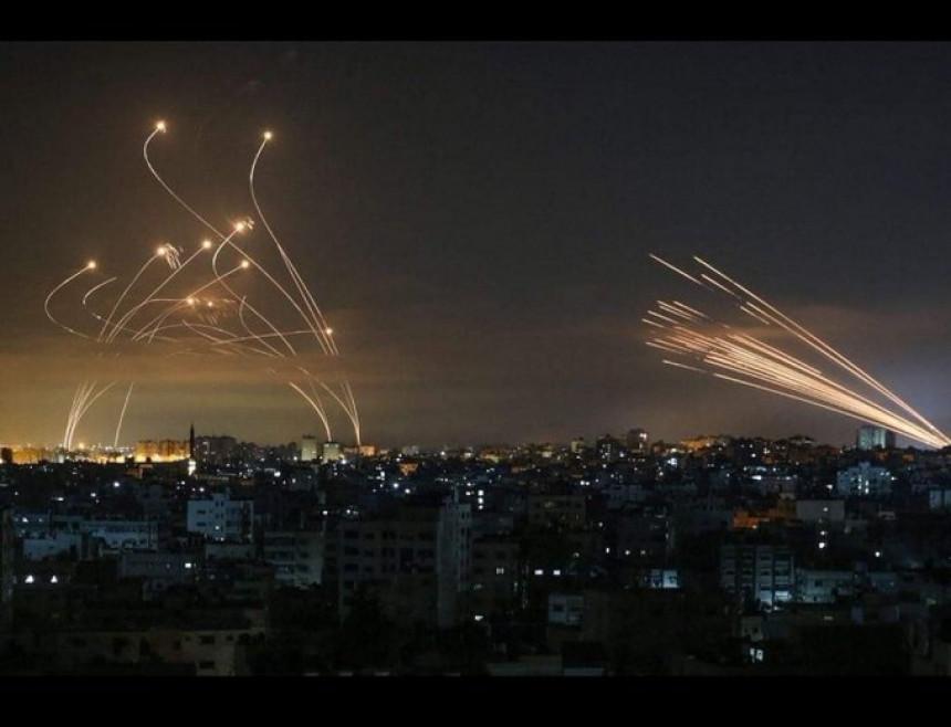 Хамас ракетама засуо више градова Израела (ВИДЕО)