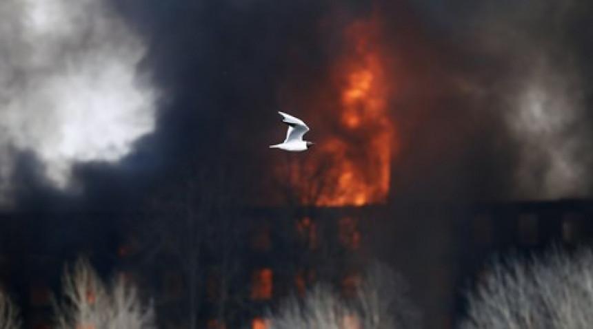 Zapalile skoro 200 tona slame, zbog videa za TikTok