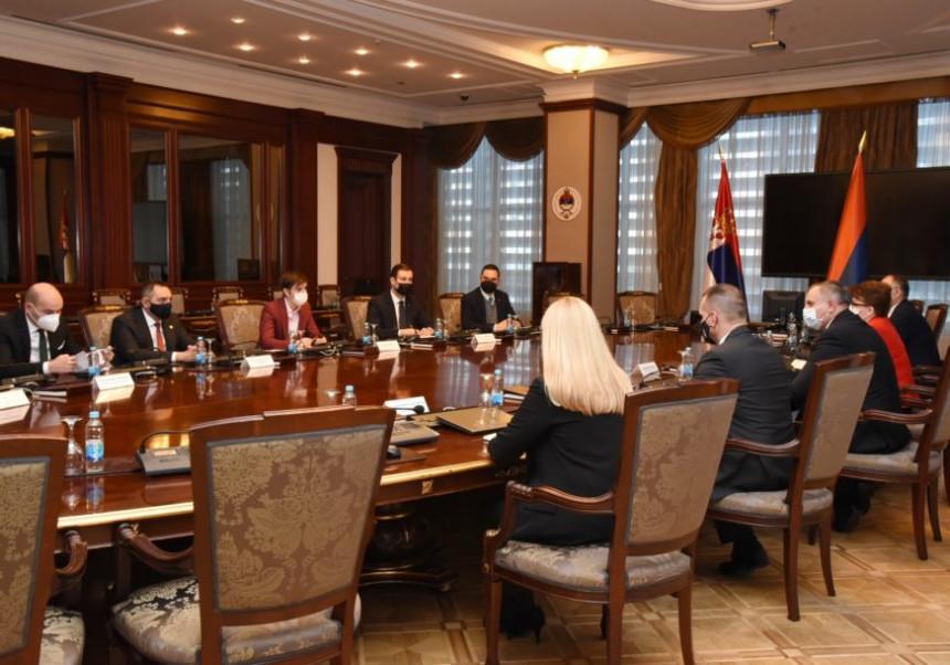 Sutra zajednička sjednica vlada Srpske i Srbije