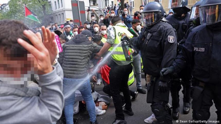 Bliskoistočni sukob i na ulicama Evrope
