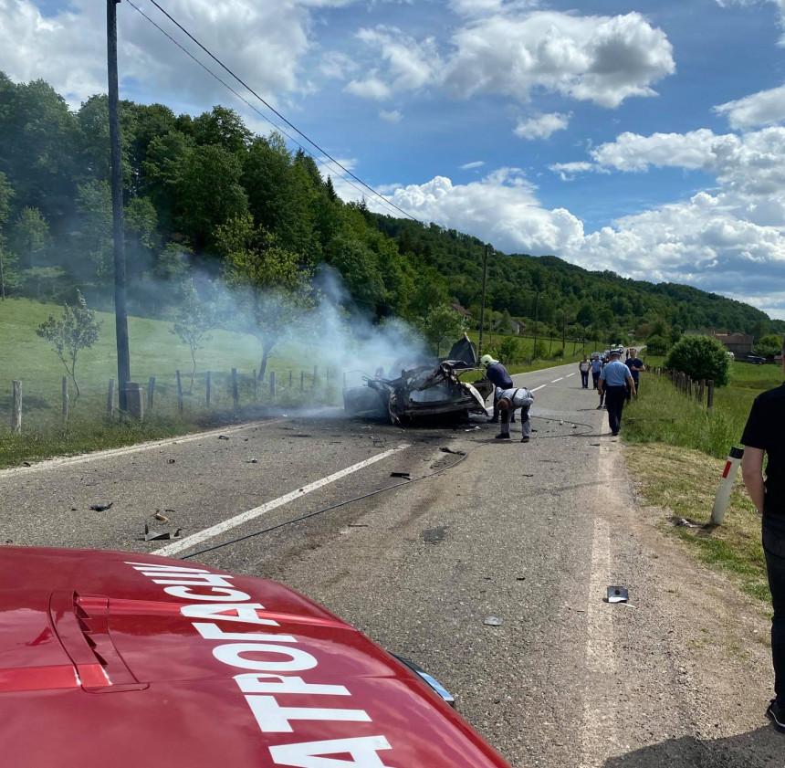 Teška nesreća kod Kostajnice, šestoro povrijeđenih