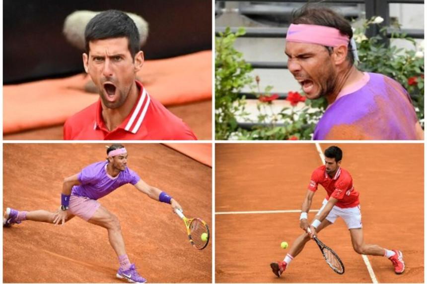 Epsko finale – Đoković izgubio od Nadala